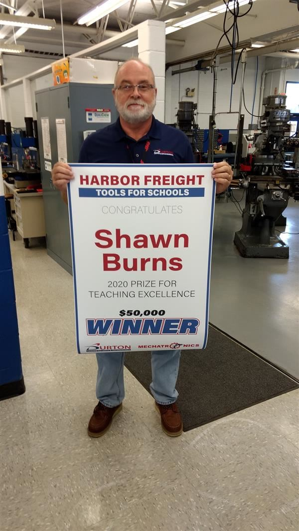 Burns Wins National Award!