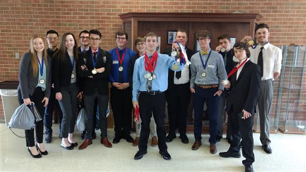 BCAT FBLA Students Perform Well in Regional Competition