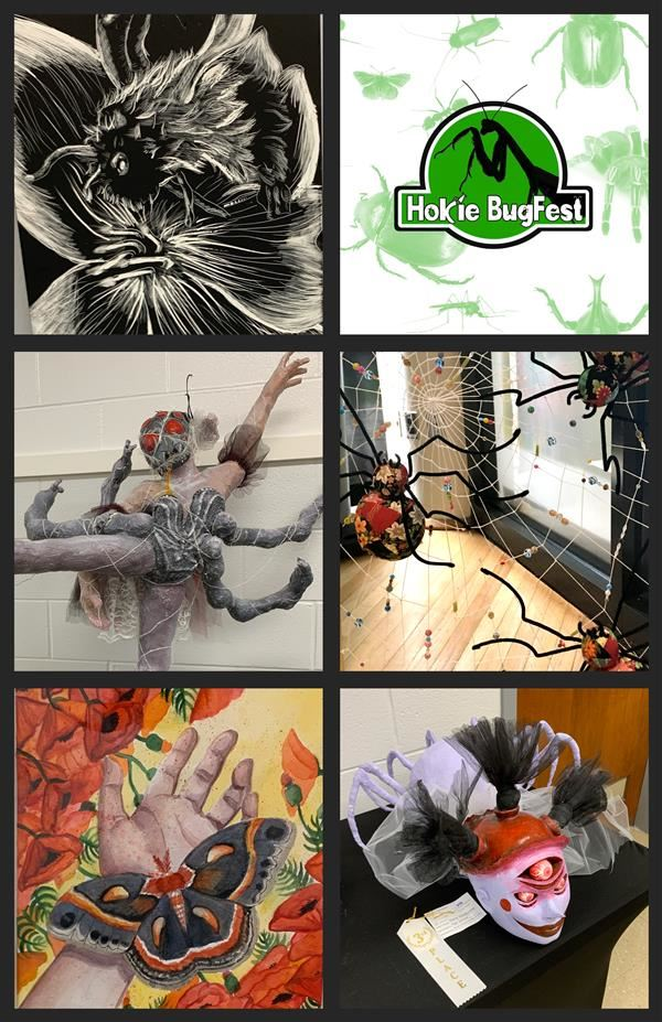 Art Students win at Hokie Bugfest
