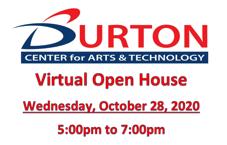 BCAT Virtual Open House: October 28 from 5pm to 7pm