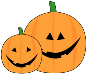 Pumpkin Contest is Over! See Below for Information about the Contest Result