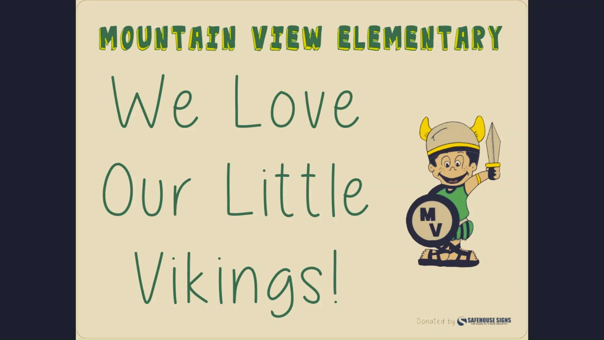 We Love Our Little Vikings!
